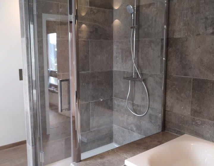 douche badkamer renovatie te malderen